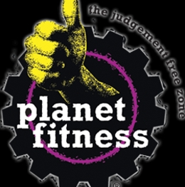 the Planet fitness logo