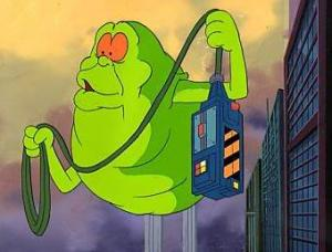 Sure, Slimer is kind of gross, but at least he's good-hearted.