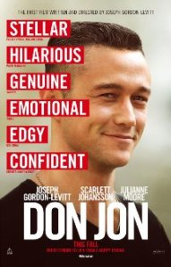 "JGL as  juice-head in ""Don Jon""."